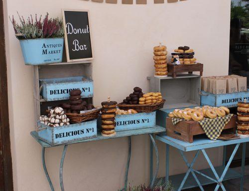 Mesas de dulces en Finca La Torreta